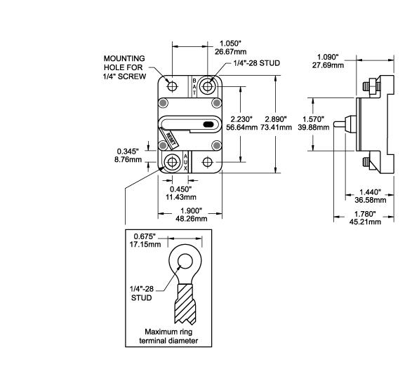 circuit breaker  100 amp