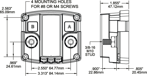 Perko Battery Switch To Trolling Motor Wiring Diagram besides Serinfo07G together with Add A Battery Kit   120A together with Wiring Diagram For Rv Motorhome Electrical likewise Blue Sea Systems Starting Isolation Si Dual Sensing Automatic Charging Relay 8646283. on wiring diagram for dual batteries in a boat