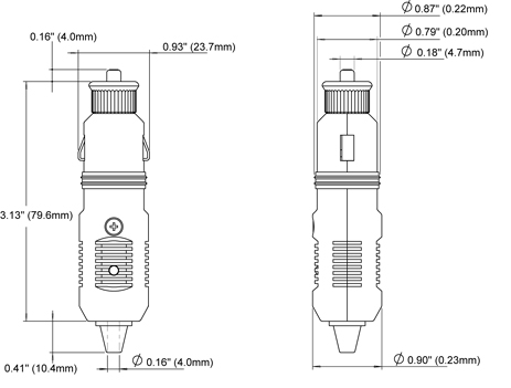 12 volt plug blue sea systems rh bluesea com car lighter wiring diagram 12v cigarette lighter wiring