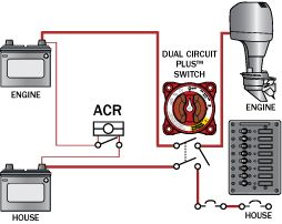 three acrs from blue sea systems - blue sea systems blue seas acr wiring diagram harley davidson acr wiring harness #13