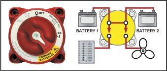 81001 blue sea systems' dual circuit battery switch blue sea systems blue sea 7650 wiring diagram at reclaimingppi.co