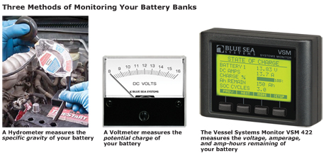 Three methods of monitoring your battery banks