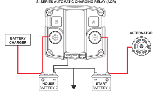 Automatic Charging Relay An Alternative To Multiple