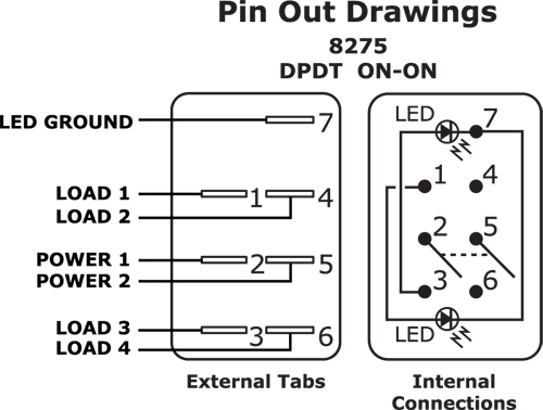 spst lighted rocker switch wiring diagram smartdraw diagrams spst illuminated rocker switch wiring diagram