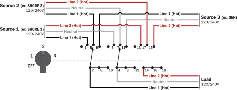 Switch Wiring Diagram Likewise 3 Position Rotary Switch Wiring Diagram
