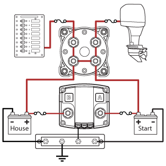 3 Position Marine Battery Switch Wiring Diagram on wiring diagram for marine battery selector